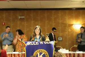Dawn Kreder receives the honor of becoming NJ's District Governor for Circle K